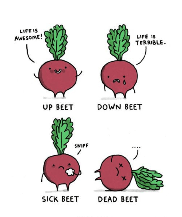 meme about beets