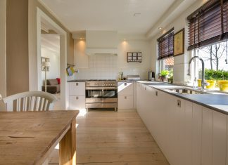 Image of a nice kitchen