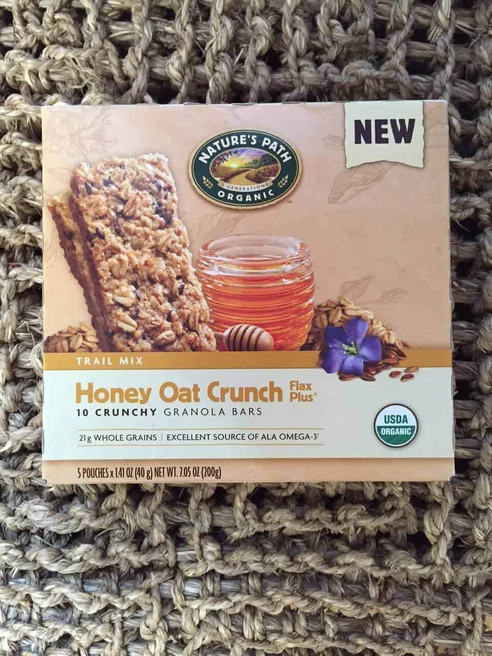 Nature's Path Honey Oat Crunch Granola Bars