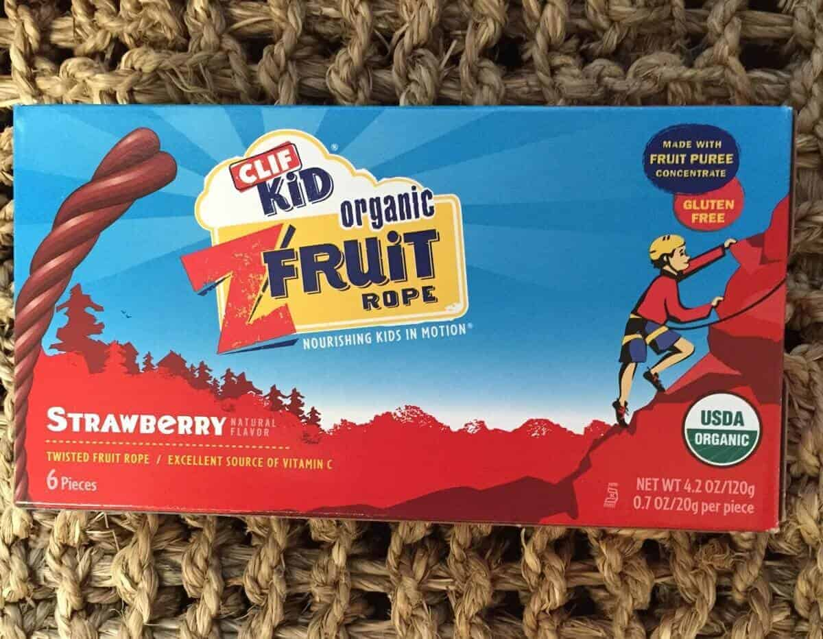 Clif Kid Organic Fruit Rope