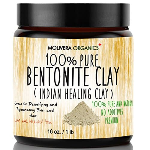 Molivera Organics 100% Bentonite Clay